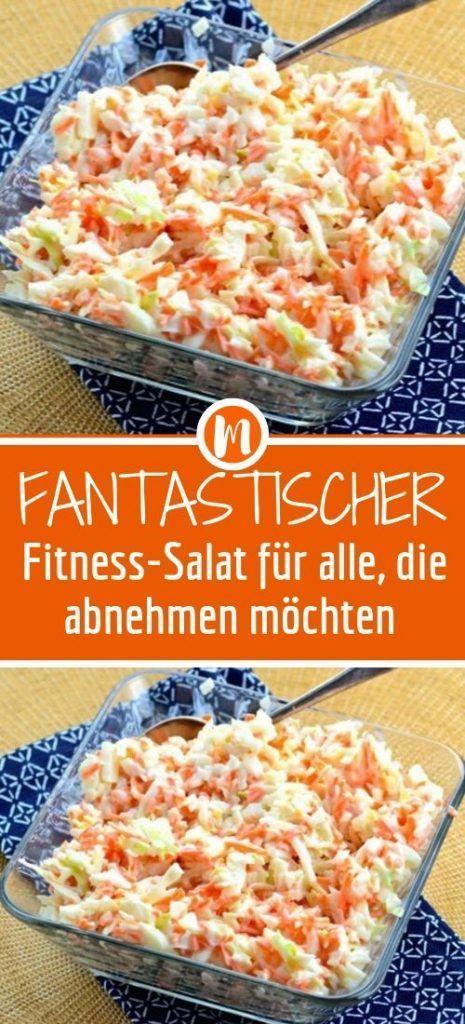 Fantastischer Fitness-Salat für alle, die abnehmen möchten - #Abnehmen #alle #die #Fantastischer #Fi