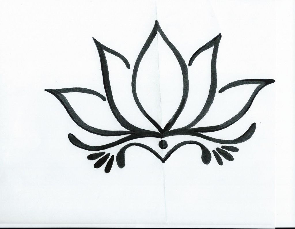 Black Lotus Flower Tattoo Simple Lotus Flower Tattoo Designs