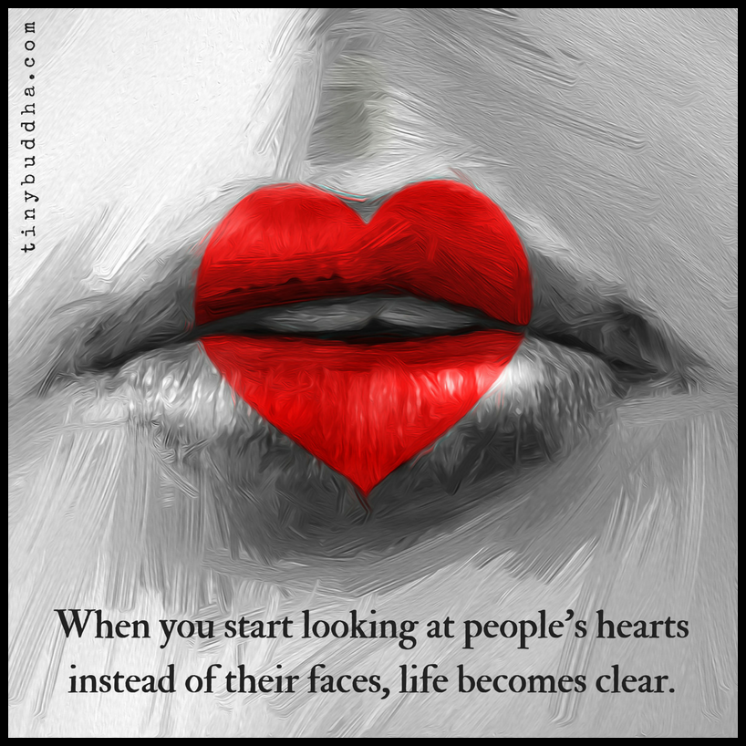 Motivational Quotes For Depression Sufferers: Start Looking At People's Hearts