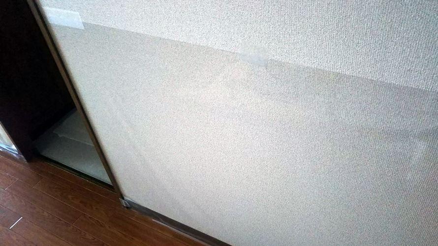 賃貸で猫の爪とぎ対策 ビニールクロスと養生テープで壁を保護 はじめての猫ミコを飼う 壁 養生テープ 賃貸