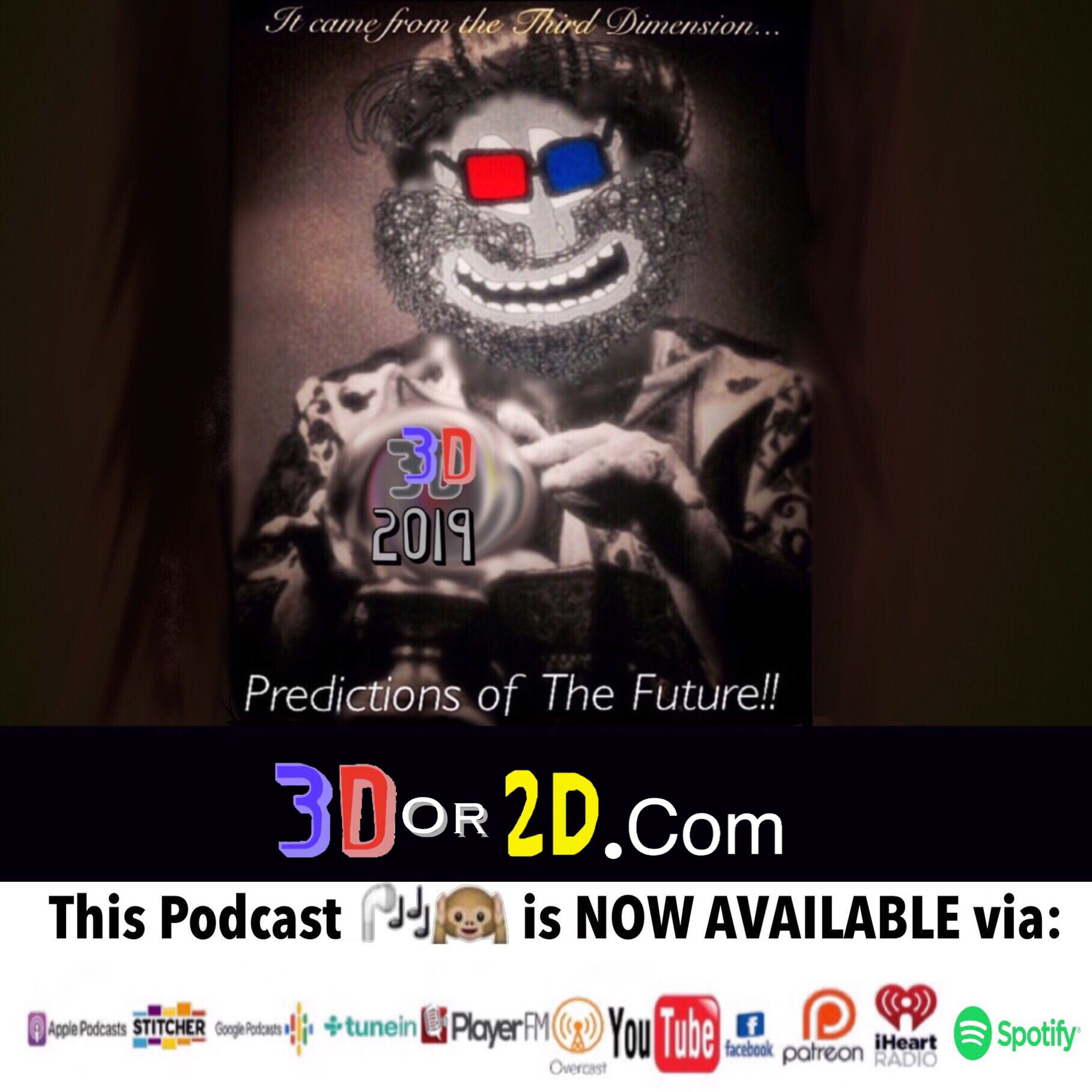 2019 3D Predictions Youtube, Insight, Fictional characters