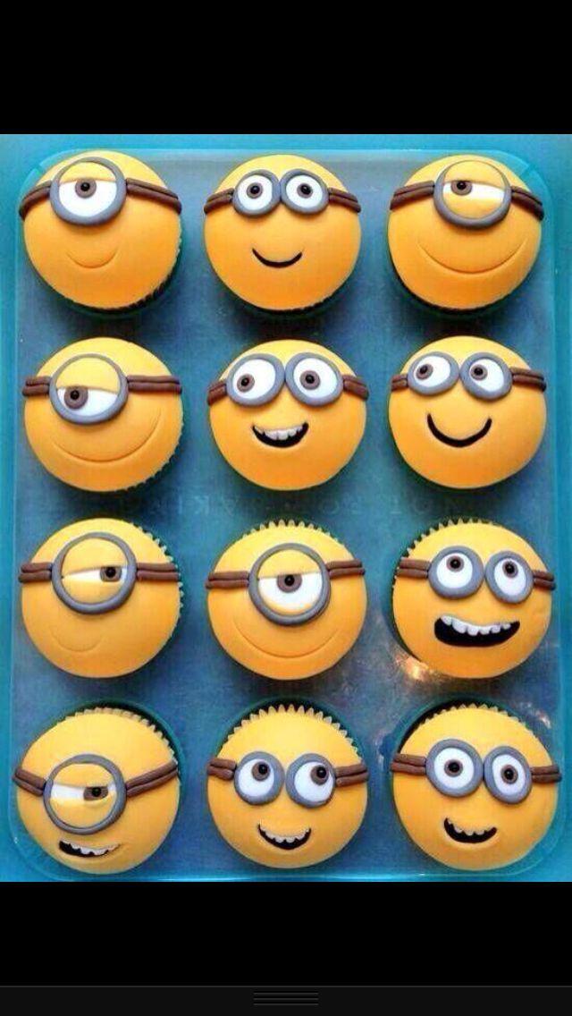 Pin By Keana Jamito On Appetite Minion Cupcakes Cupcake