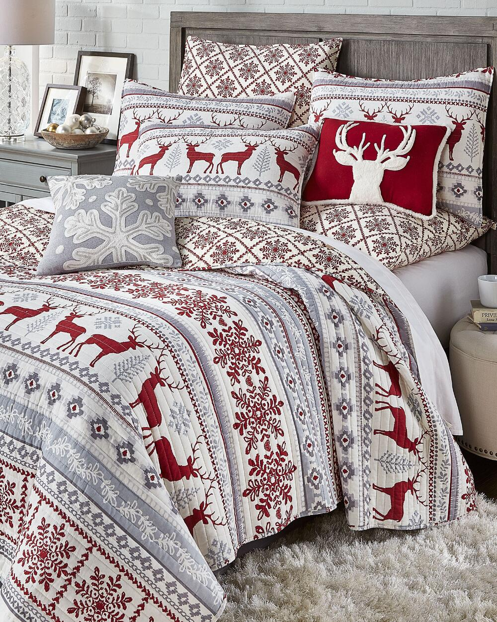 Silver Bells Luxury Quilt Quilts Bedding Bed Bath Stein Mart