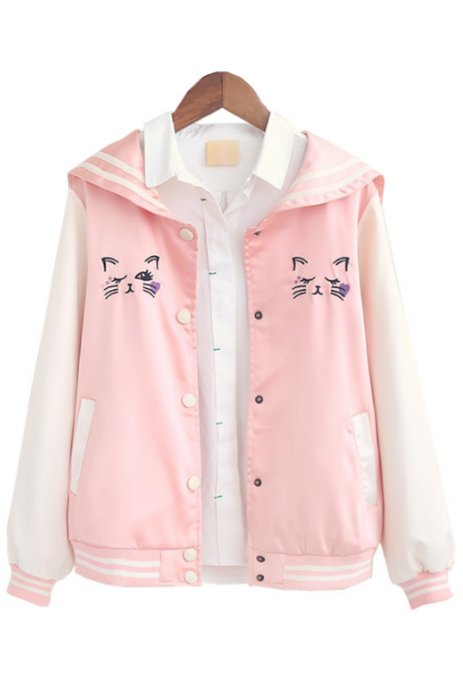 korean fashion sweet pastel fleece hoodie from Cute Kawaii {harajuku fashion}