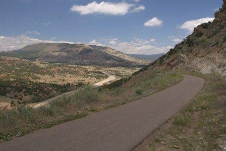 Skyline Drive above Canon City, Colorado