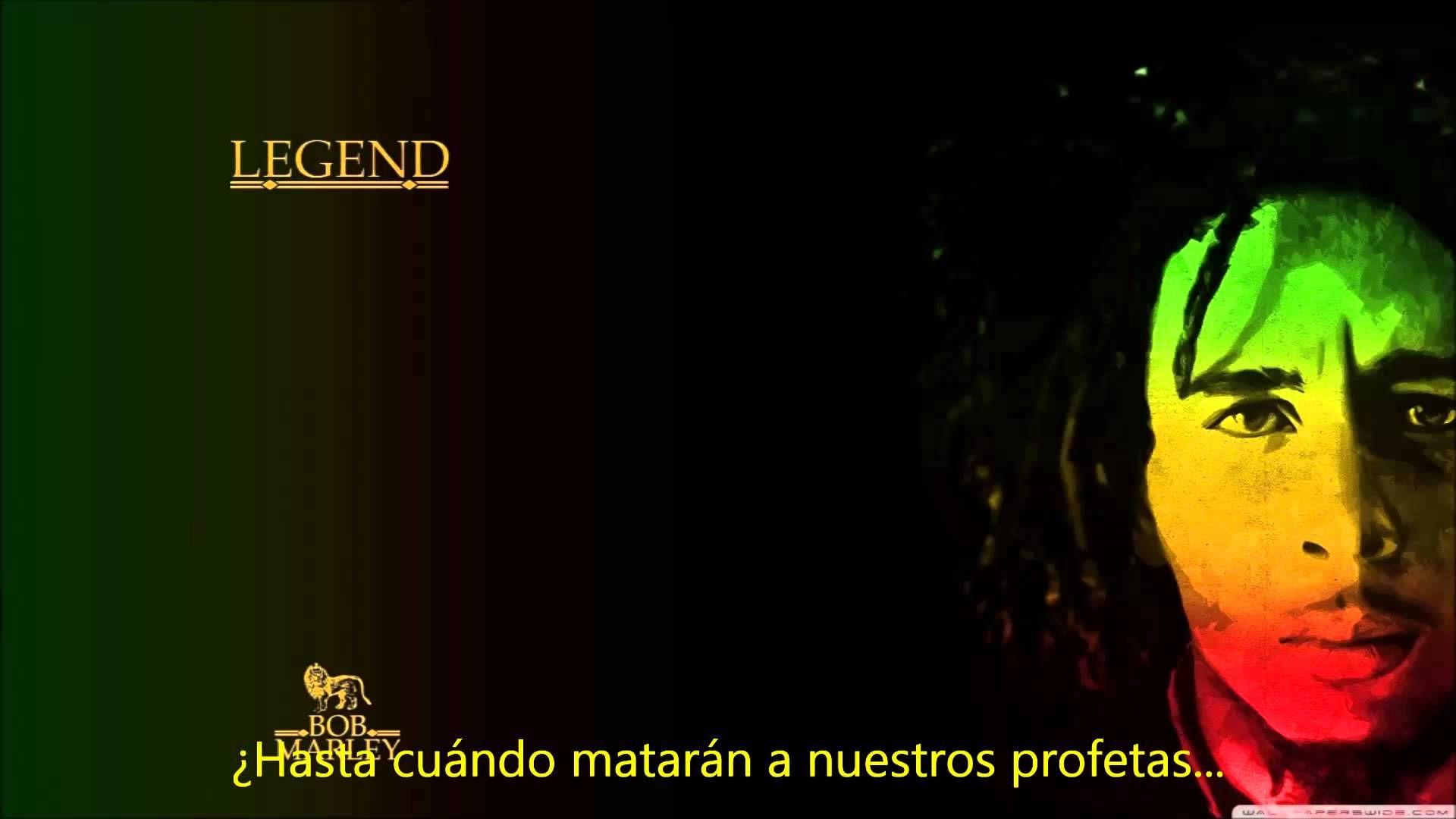 Bob Marley Redemption Song Subtitulada Al Español ᴴᴰ Musica Oscuridad Bob