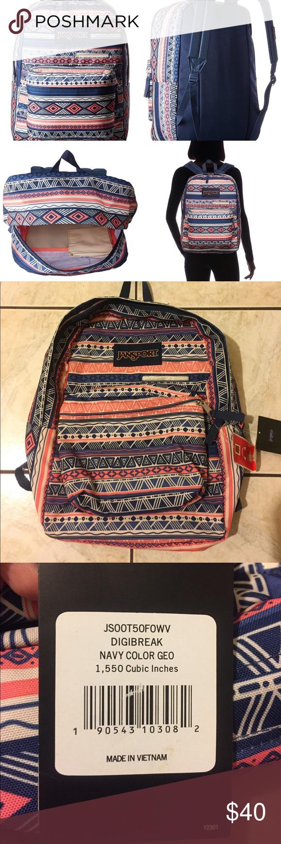 7255053342f JANSPORT SuperBreak Backpack - WHTCO - T501-0EM