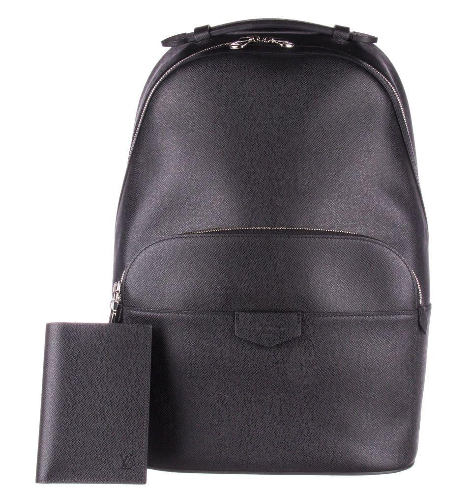 b86e236059b9 LOUIS VUITTON Ardoise Taiga Anton Backpack  fashion  clothing  shoes   accessories  mensaccessories  bags (ebay link)