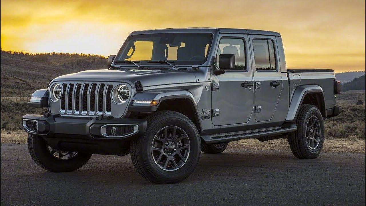 2020 Jeep Gladiator Overland Jeep gladiator, Jeep pickup