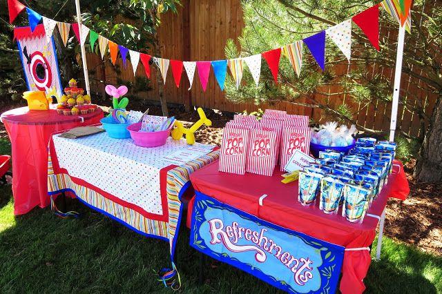 DIY backyard CARNIVAL Party {Emily's 8th Birthday ...