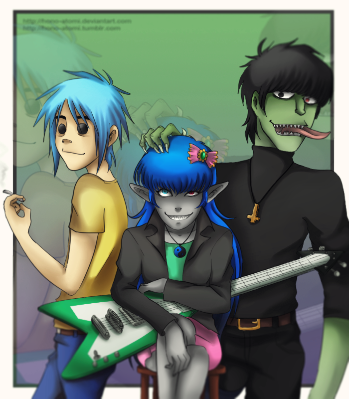Noodle Getting Fucked By Murdoc