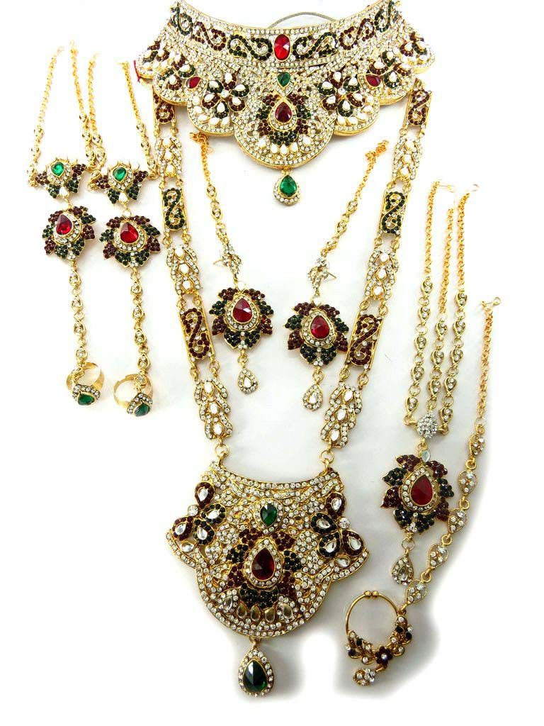 Wedding Jewelry Indian Bridal Jewelry supplier Manufacturer and
