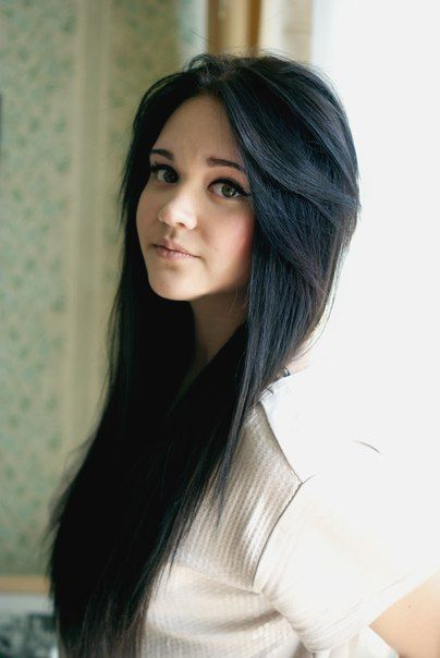 Image result for girl black hair