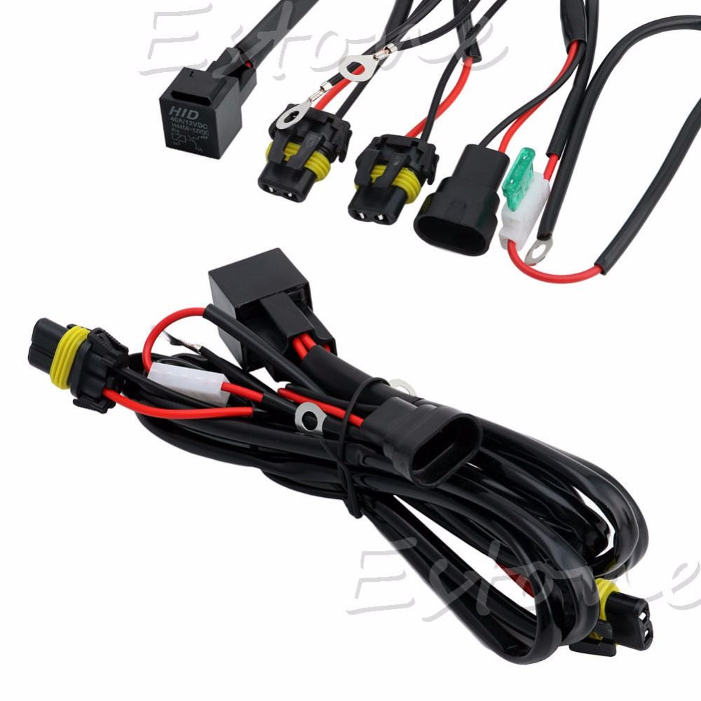 Champled Xenon Kits W Drl Hid Conversion Kit Relay Wiring 9005 9006 Headlight Diagram Wire Light Harness H1 433853c4634191acc48432794f3b43cb 835488168343779126