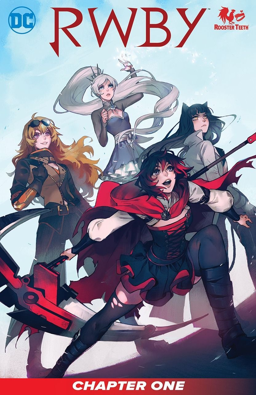 Rwby Comic Available Now On Readdc Com Here S The Preview Pages