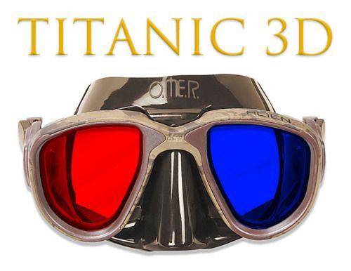 TITANIC 3D GLASSES