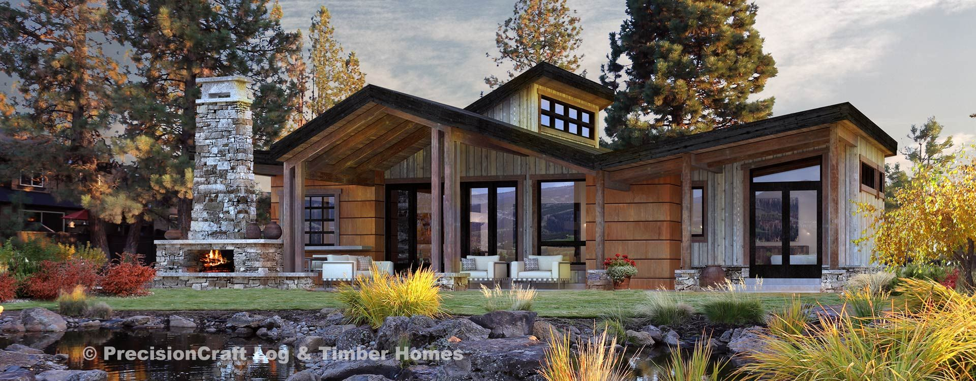Just Needs A Dining Area Rustic House Plans Modern Lake House Timber House