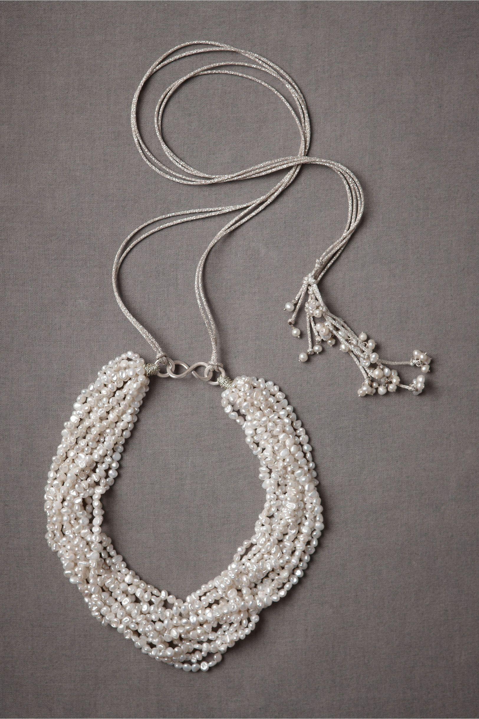 Claire de Divonne mellifluous necklace. $635