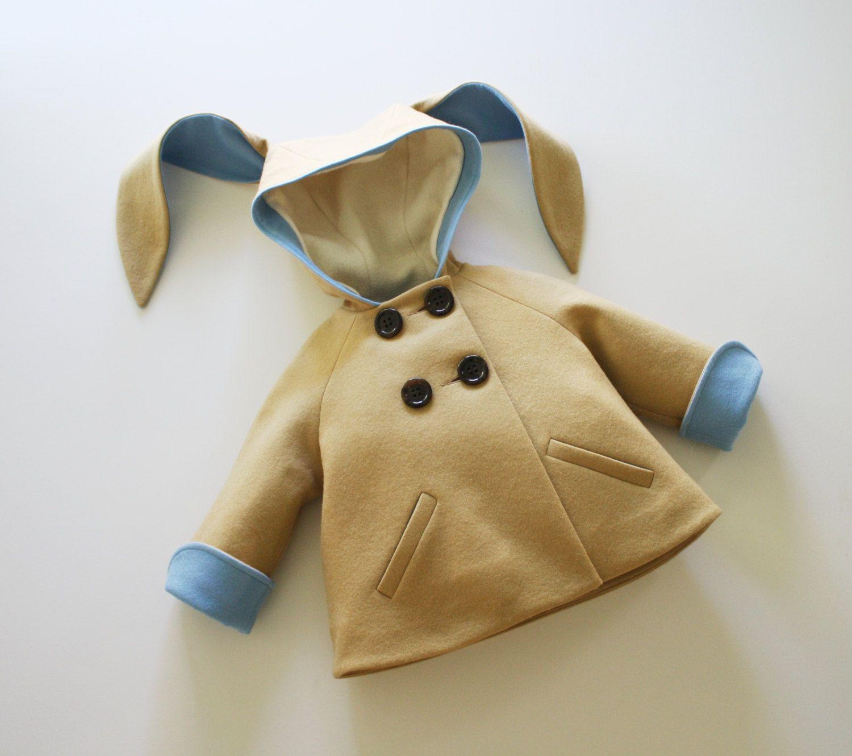 Luxe Little Rabbit in Blue от littlegoodall на Etsy