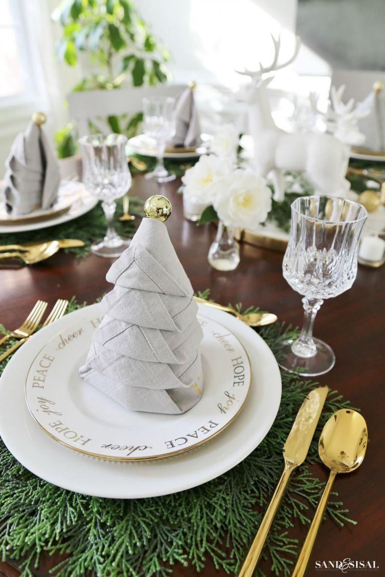 Christmas Dinner Tablesetting Ideas | Sand and Sisal Blog ...