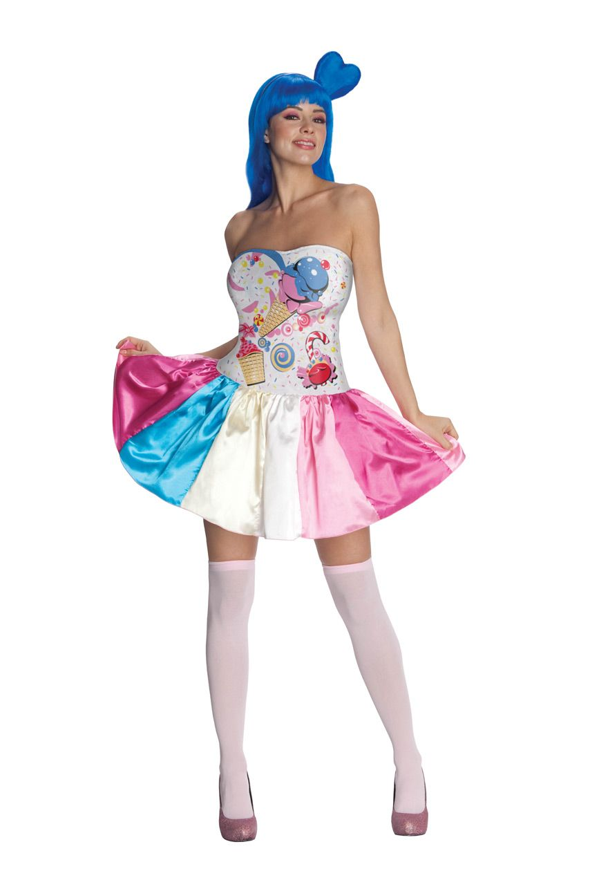 D guisement candy girl katy perry femme deguise toi achat de deguisements adultes - Deguisement halloween adulte ...