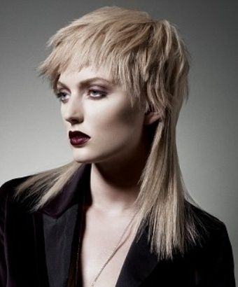 mullet cut with bangs in 2014 Famous Hairstyles