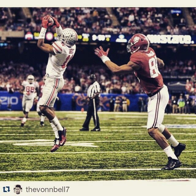 """""""#Repost @thevonnbell7 ・・・ The tackles will come..these are moments I love and live for .. #Pick #6 #TBT"""""""