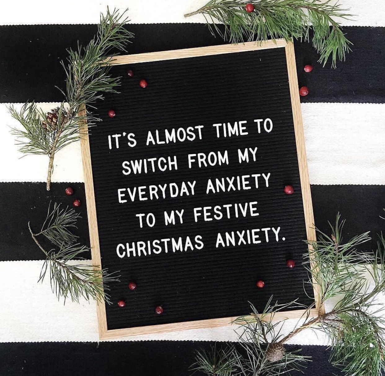 Christmas quotes with letterboard