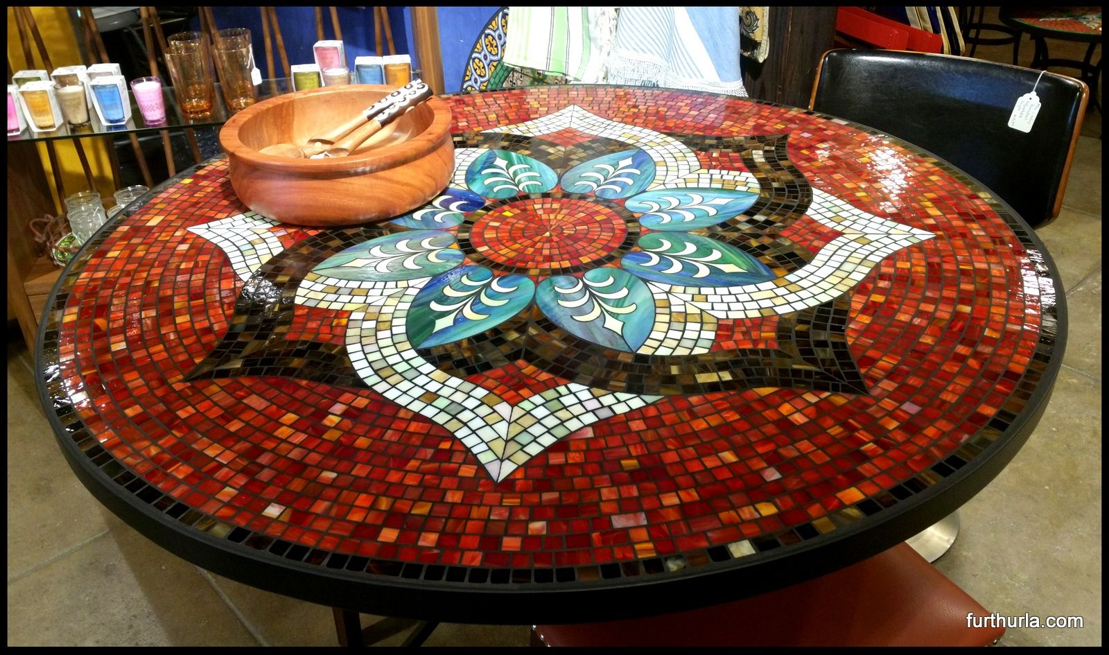 Pin By Monica Takeute On Mosaic Mosaic Mosaic Crafts Table