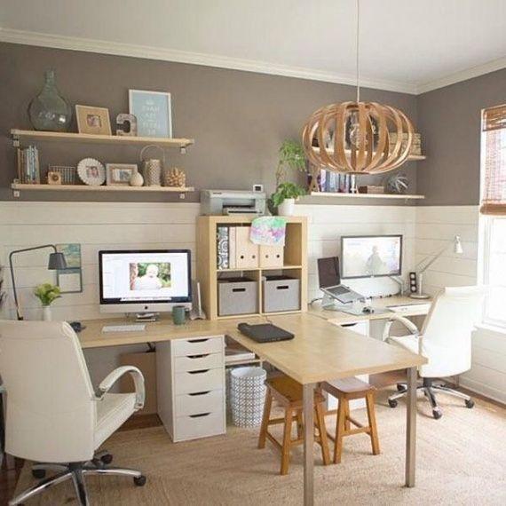 Furniture Best 25 Double Desk Office Ideas On Pinterest