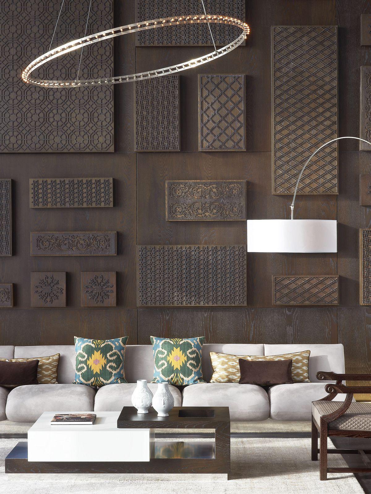 Le m ridien istanbul etiler presidential suite living room - Diseno paredes interiores ...