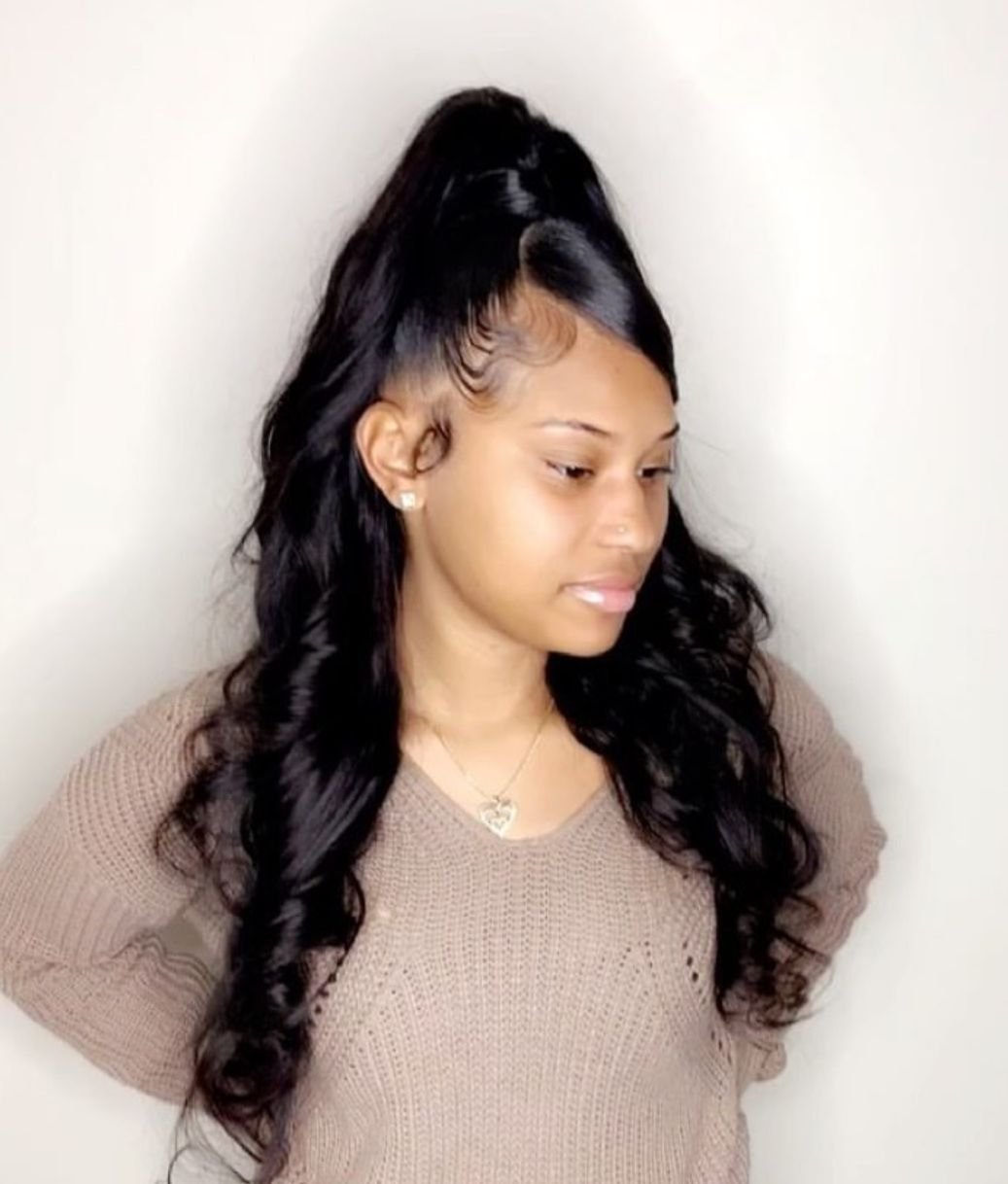 Hair Laid Pin Kjvougee Loose Hairstyles Hair Ponytail Styles Wig Hairstyles
