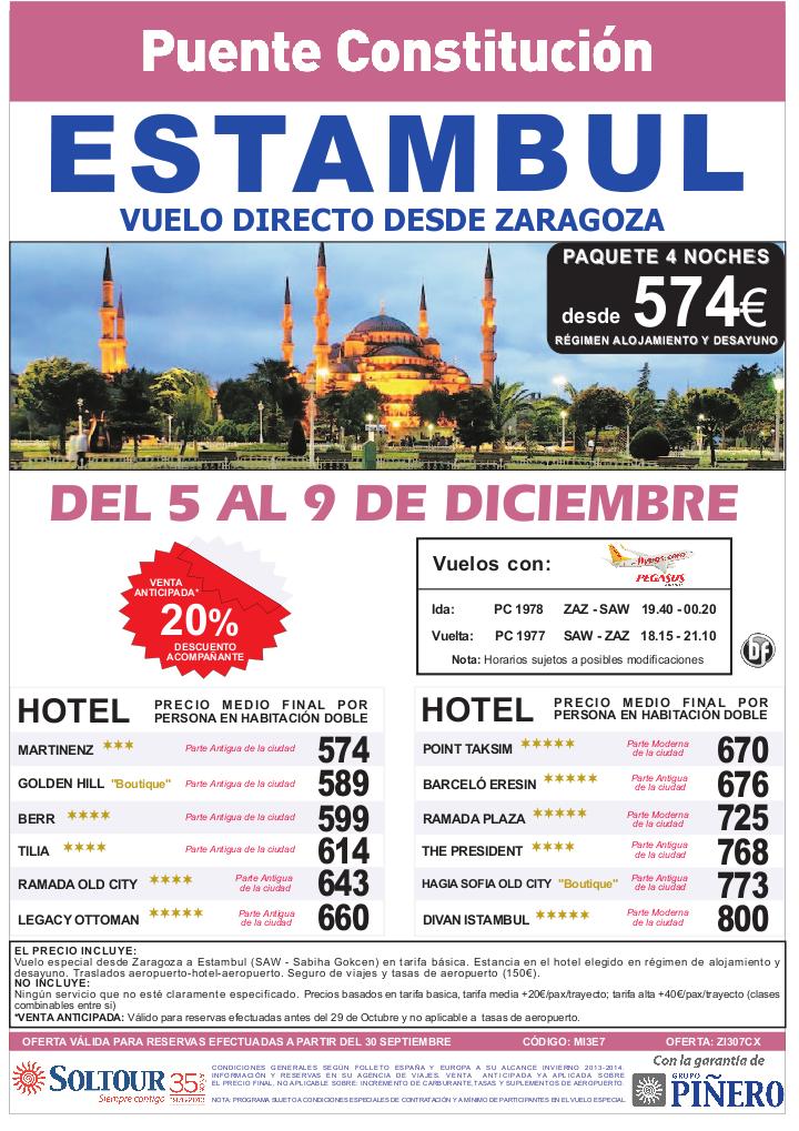 Estambul, 20% Especial Puente Constitución, salida 5 Diciembre desde Zaragoza - http://zocotours.com/estambul-20-especial-puente-constitucion-salida-5-diciembre-desde-zaragoza/