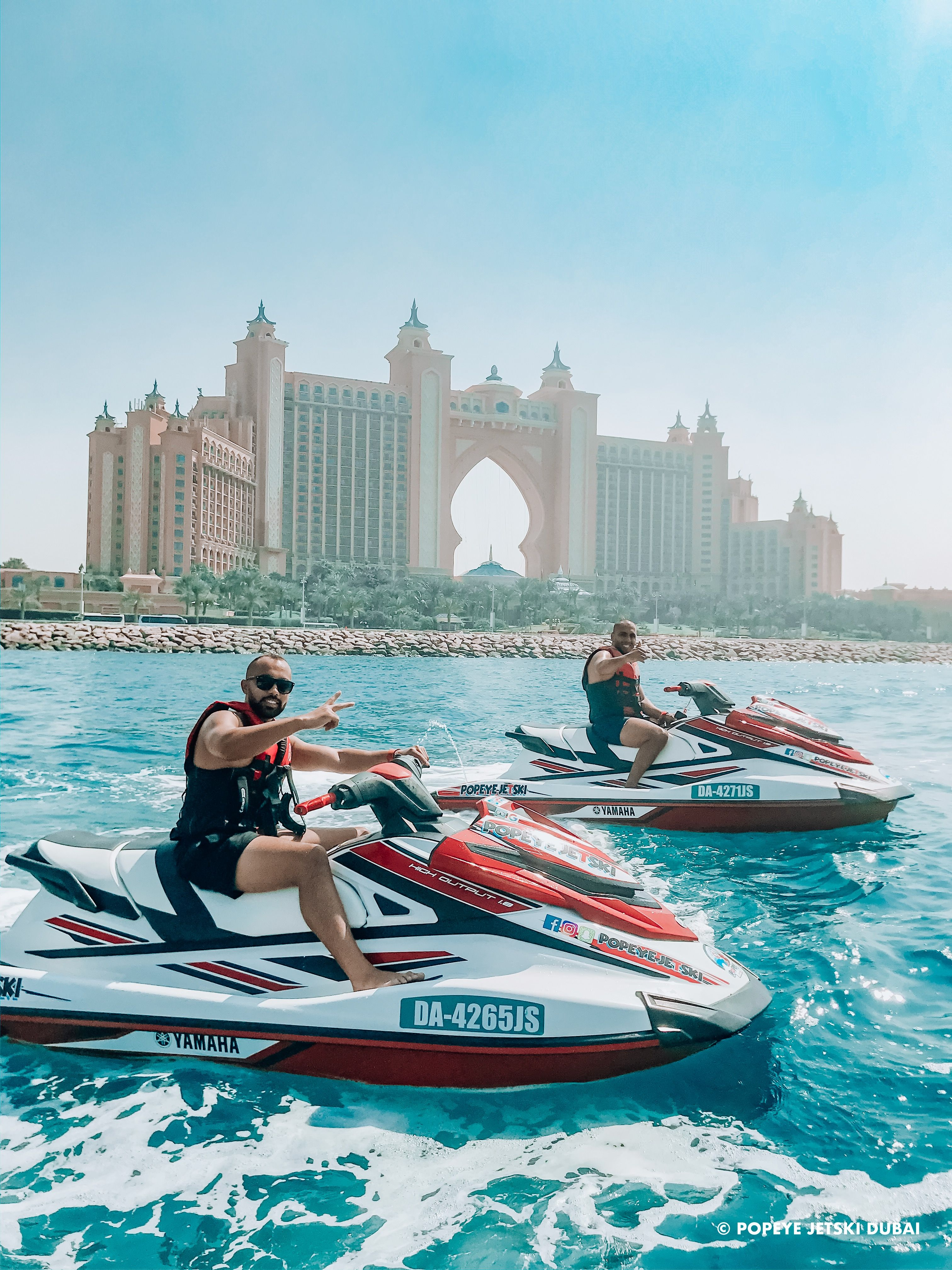 Dubai jetski tour jet ski rentals jet ski dubai