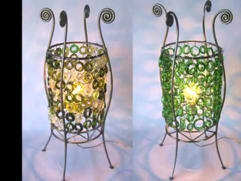 Reciclaje de botellas de vidrio youtube videos - Manualidades con botellas de cristal ...