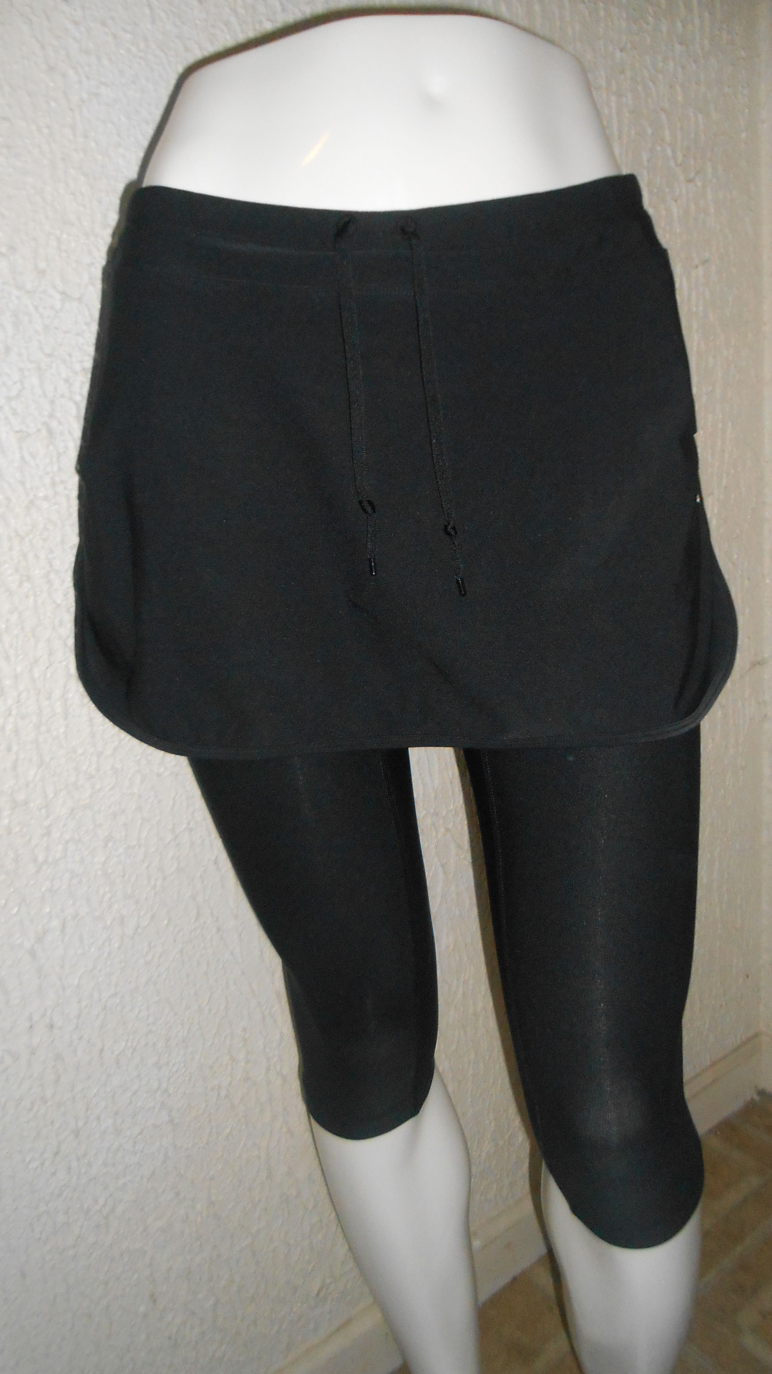 Nike Dri Fit capri legging with attached skirt, available at: http://stores.ebay.com/lovelyapparel