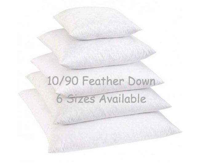 40x40 Down Pillow Insert 4040 Down Feather Blend Pillow Inserts Extraordinary Down Pillow Inserts 22x22
