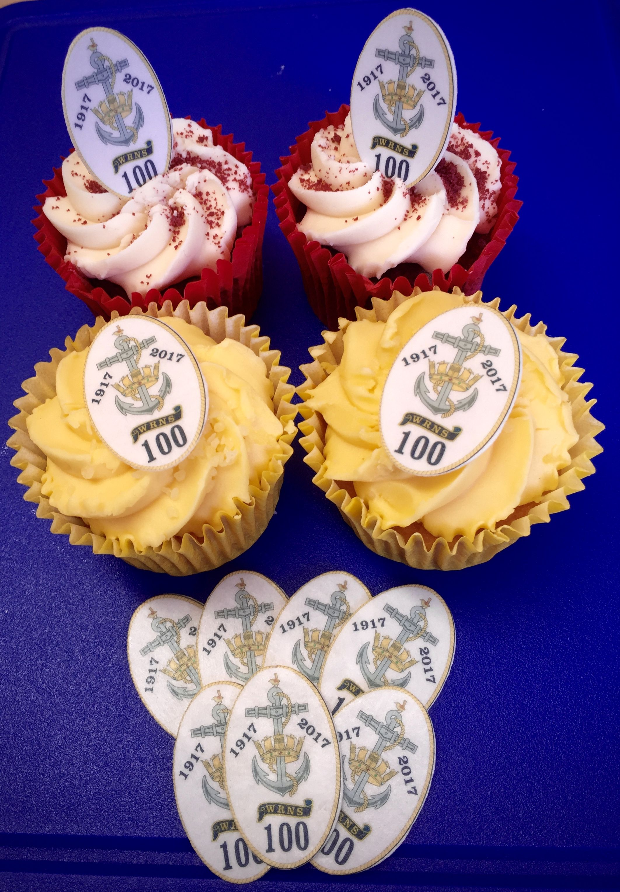 WRNS100 Project specially commissioned cake toppers