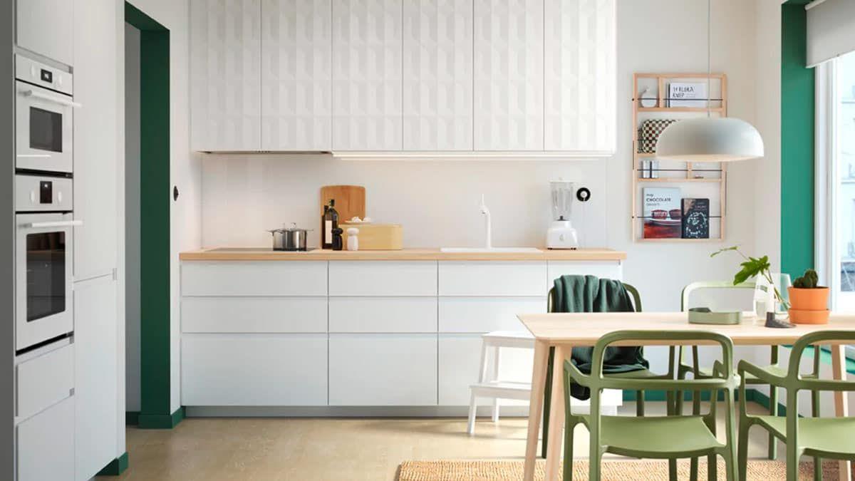 Una Cucina Dal Gusto Scandinavo Cucina Appartamento Piccolo