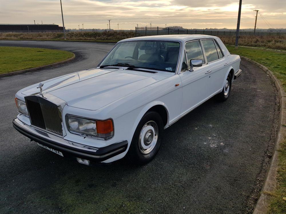 eBay: Rolls royce silver 4995spirit tidy useable classic wedding car ...