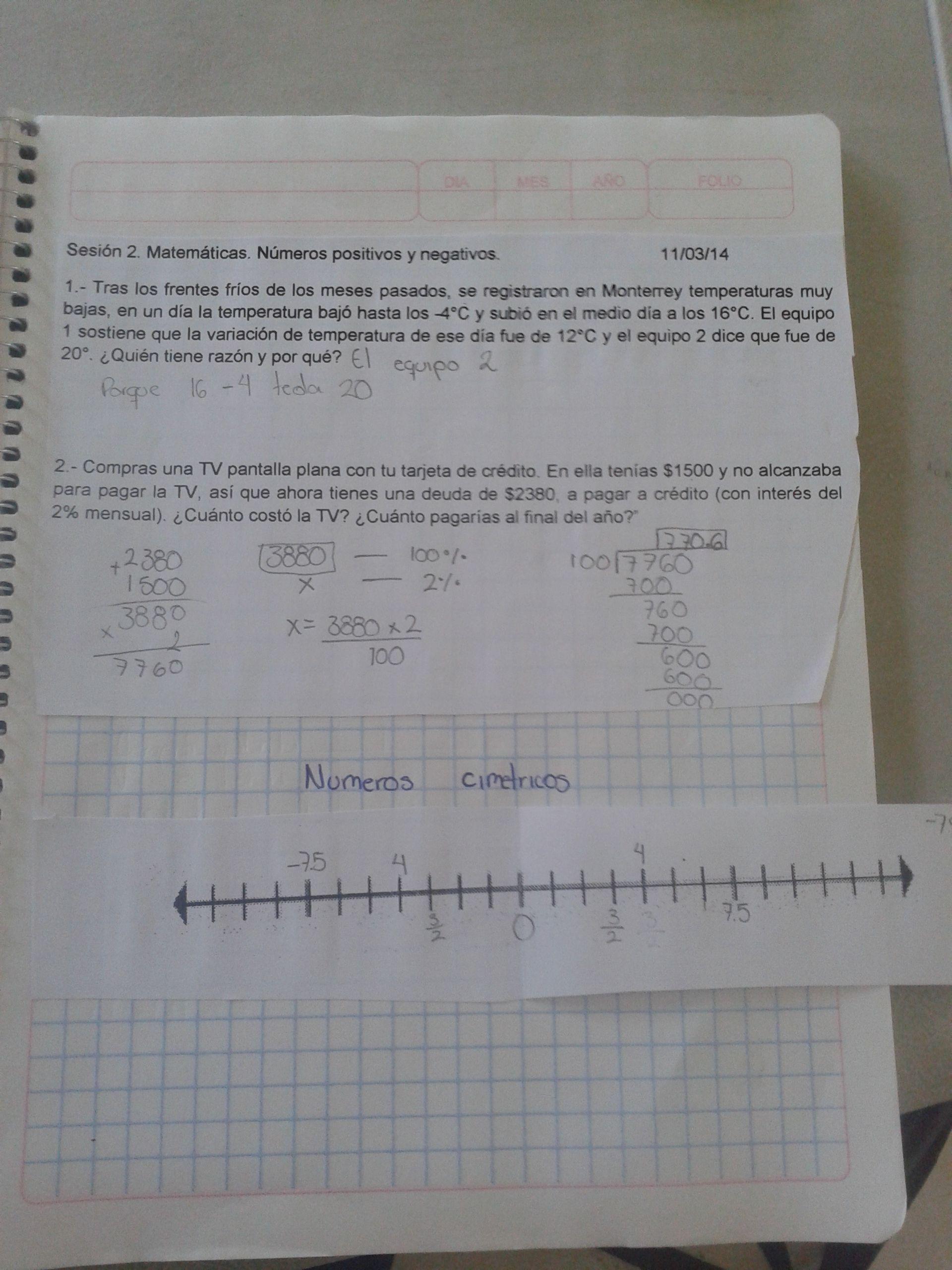 Producto Matematicas Sesion 2 Diferencias Entre Numeros