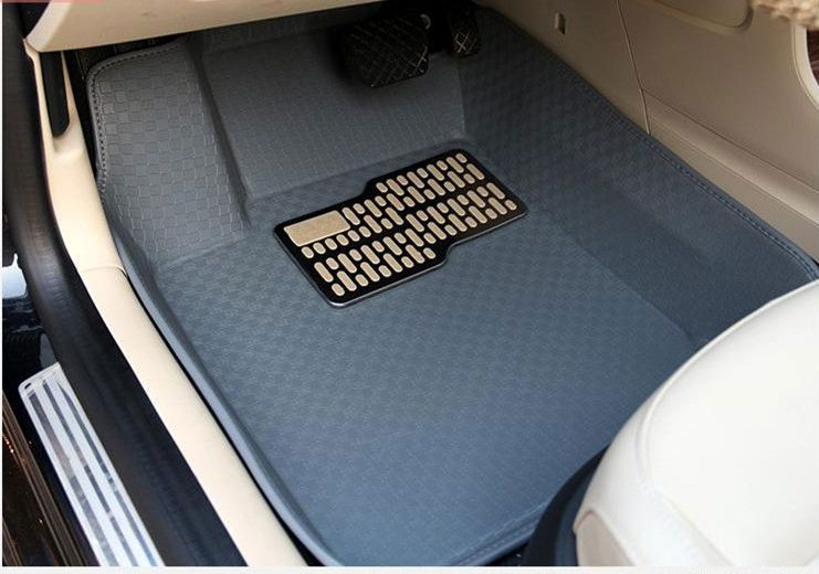 Full Surrounded Mat Set Floor Foot Car Mats Rugs Auto Accessories