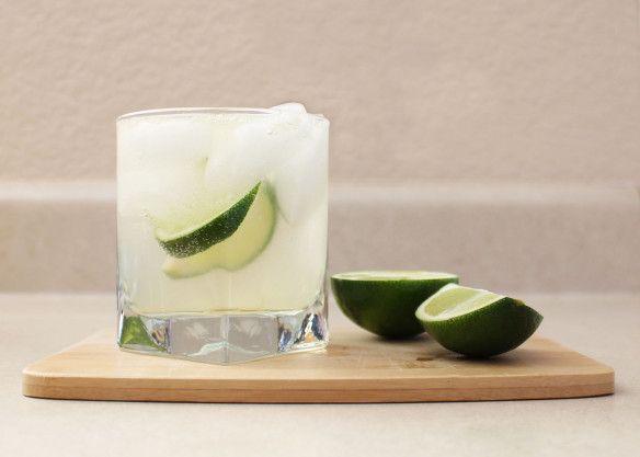 gin ginger lime.
