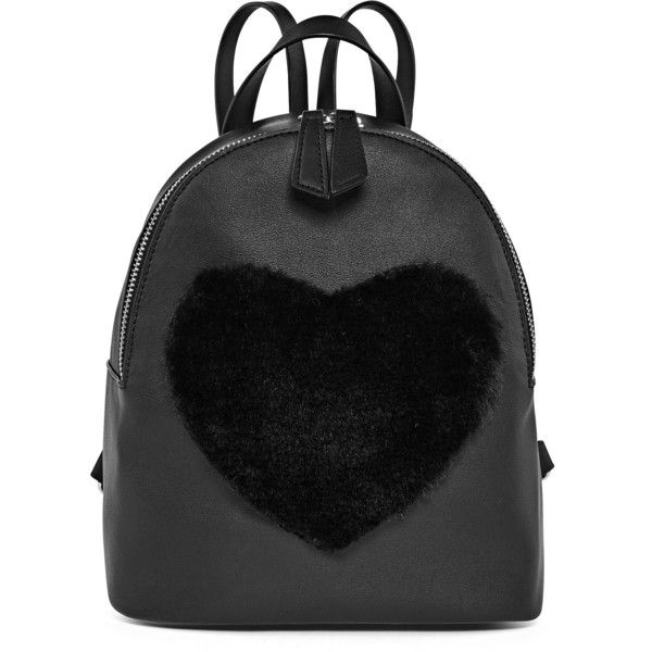Heart Backpack (83 BRL) ❤ liked on Polyvore featuring bags, backpacks, backpack, daypack bag, backpack bags, heart shaped bag, heart bag and rucksack bags