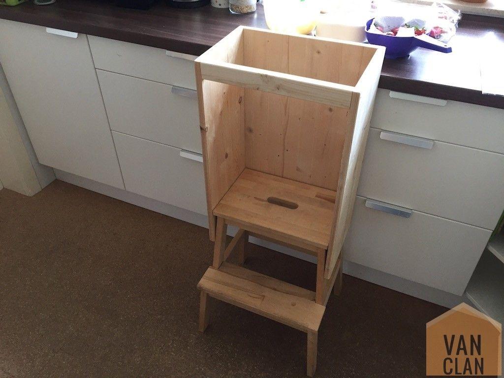 Kinderstuhl für die Küche bauen (Learning Tower) auf Ikea-Basis ...