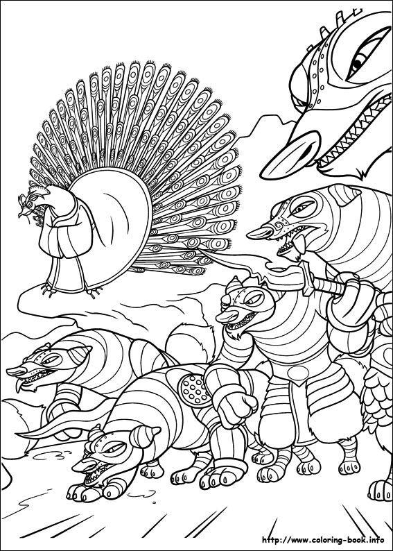 Kung Fu Panda 2 coloring picture | Kung fu panda 1 , 2 , 3 (Ötletek ...