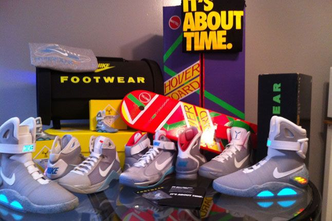 $18,000 Ultimate Nike Mcfly Collection Hits eBay! #sneakers