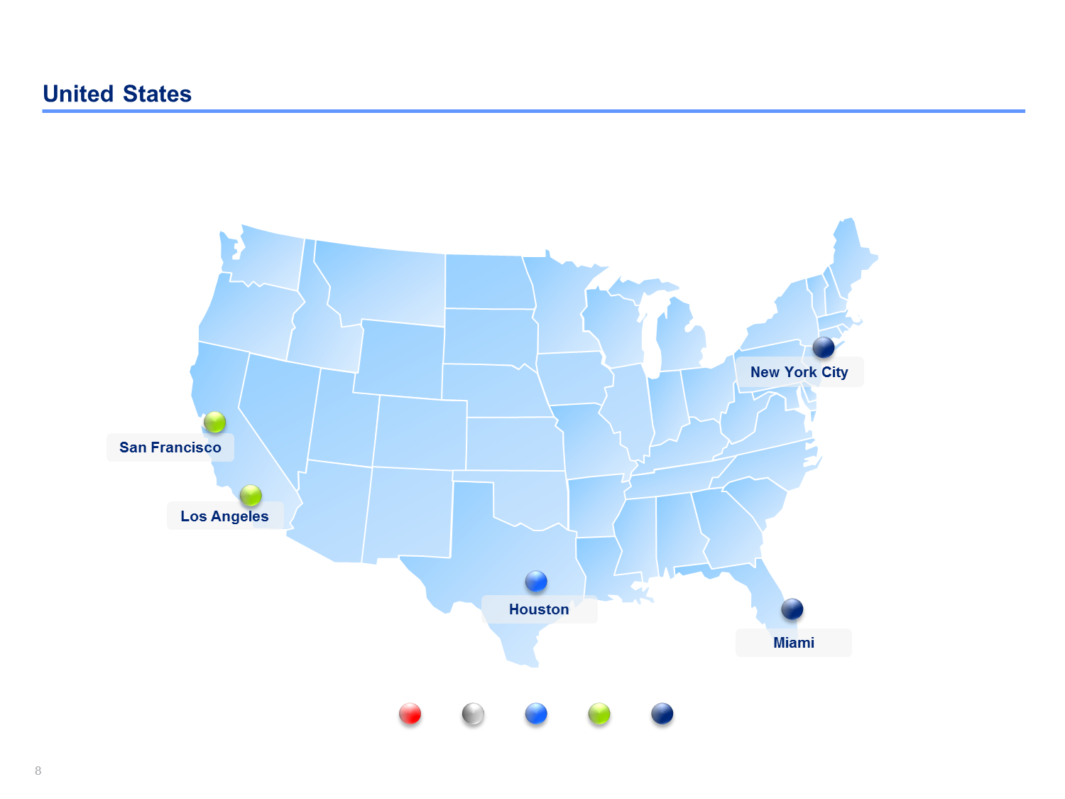 US Map Templates | Editable US Maps in Powerpoint ...