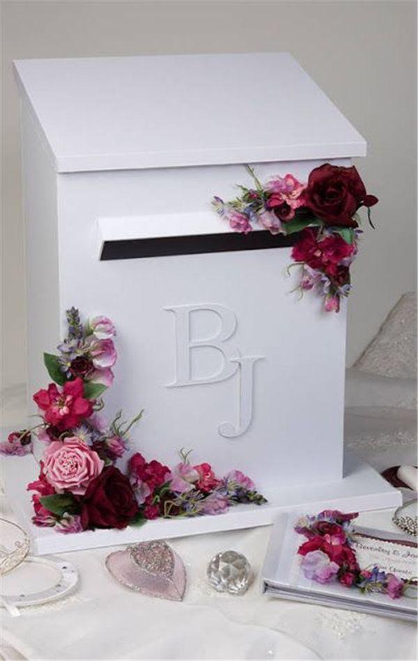 Pin By Riki Elder On Wedding0618 Wedding Post Box Card Box