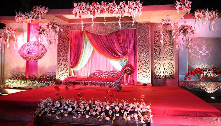 Pics for arabic wedding stage design for Arabic wedding stage decoration